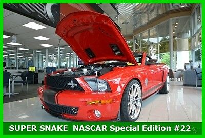 2007 Ford Mustang Shelby GT500 2007 Shelby GT500 SUPER SNAKE