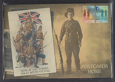 """Limited Edition Souvenir Fdc,only 3500. Wartime Letters,1914-18 """"postcards Home"""""""