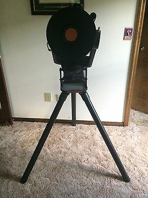 """Celestron Celstar 8"""" 2000mm f/10 Telescope with tripod, mount, and lenses"""