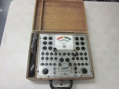 Century FC-2 Tube Tester: Pristine  Accessories and TUBES TESTED TO FUNCTION