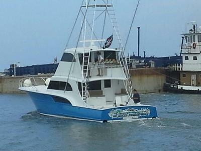 2005 68' Buddy Davis Enclosed Sportfish with tuna tower