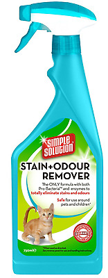 Simple Solution Stain and Odour Remover for Cats, 750 ml