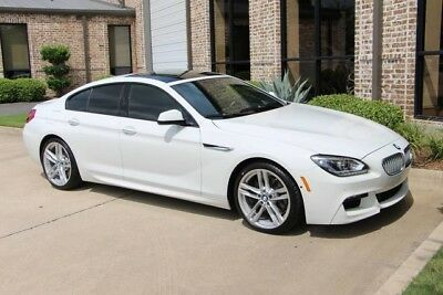 2015 BMW 6-Series Base Sedan 4-Door Alpine White M Sport Executive Driving Assistance Plus Lighting B & O 20s More!