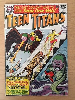 TEEN TITANS #1 Jan 1966 DC COMICS 1st ISSUE