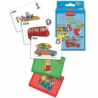 Richard Scarry's Busytown Cars and Trucks - Card Game by Ravensburger (01026)