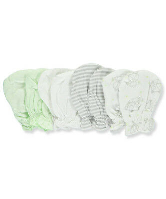 Mary Jane & Buster Baby Boys' 4-Pack Scratch Mittens