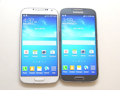 Lot of 2 Samsung Galaxy S4 SGH-M919 T-Mobile Smartphones AS-IS GSM