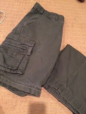 Men's Relaxed BSA 34 Convertible Uniform Pant Shorts Boy Scouts