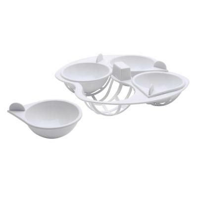 Kitchen Craft Microwave Cookware Egg Poacher, 4 cup