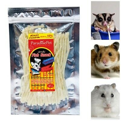 Paradisepet fish snack sugar glider chinchilla gerbil rabbit hamster food