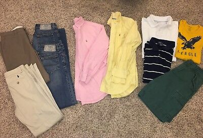 Boy's/Teen lot size 16: Ralph Lauren, American Eagle, GAP
