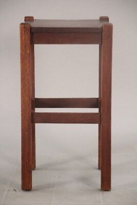 Antique Arts And Crafts Mission Style Oak Side Table Circa 1910 (10565)