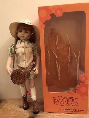 Maru & Friends Savannah 52Cm Doll Sculpted By Doll Artist Dianna Effner