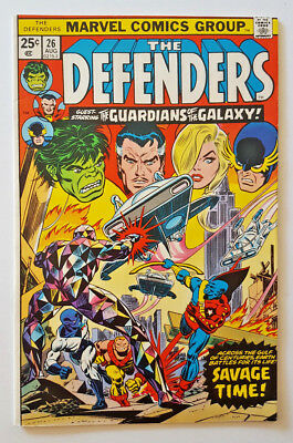 Defenders #26 Early Guardians of the Galaxy & Yondu Marvel Comics 1975 GOTG