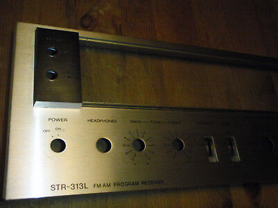 Sony STR-313L front plate spare part good condition with glass plate worldw.ship
