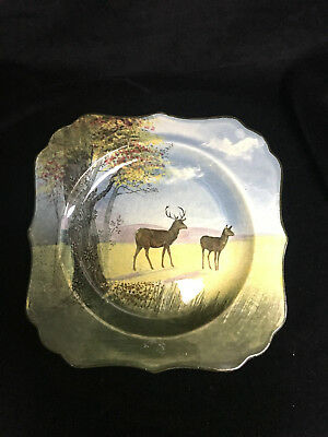 Royal Doulton Decorative Plate With Deer