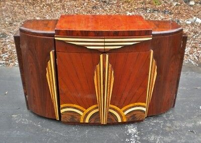Outstanding Art Deco forms Credenza buffet