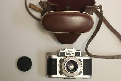 Super Paxette Camera with E – STAEBLE – KATA f/2.8 (to 16) 45mm Lens and Case