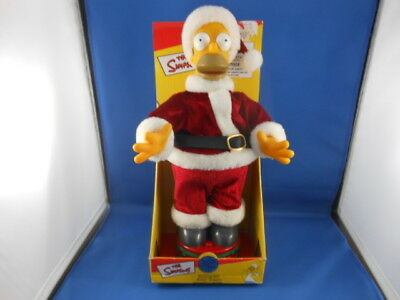 """New The Simpsons Homer Simpson Singing Doll 13"""" Tall Works!!"""