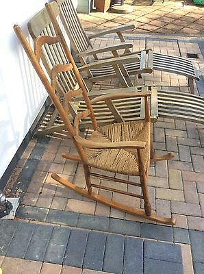 William Birch arts and crafts liberty rocking chair