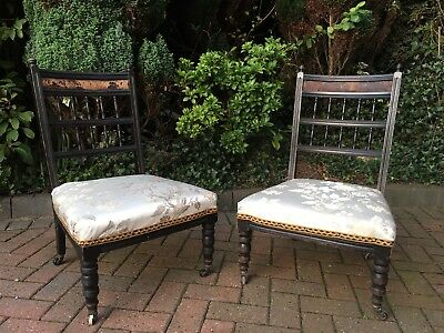 Edwardian Bedroom Chairs