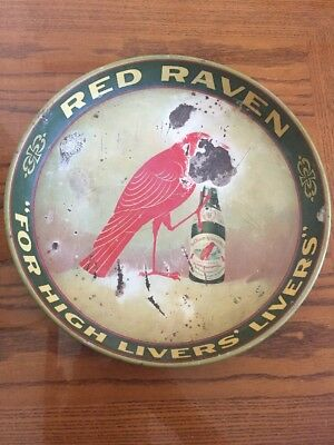 """Red Raven """"For High Livers' Livers"""" Tray"""