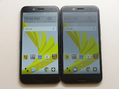 Lot of 2 HTC Bolt 2PYB2 Sprint 32GB Smartphone AS-IS