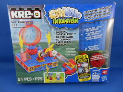 KRe-O CityVille Invasion Carnival Cannon Launch