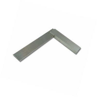Toolzone MS072 150mm Engineers Square Silver Stainless Steel