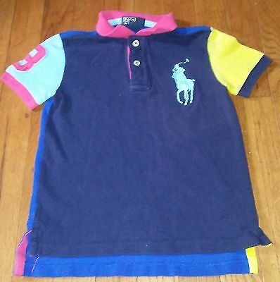 Polo Ralph Lauren Stitched Short Sleeve Polo Shirt Size 5T