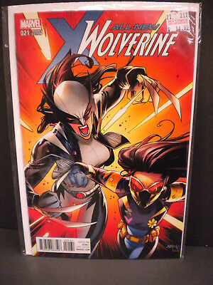 All New Wolverine #21 Variant Mora