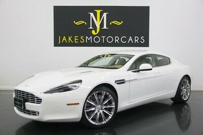 2012 Aston Martin Rapide Luxury (ONLY 5900 MILES!) 2012 ASTON MARTIN RAPIDE LUXURY, ONLY 5900 MILES! WHITE ON SANDSTORM! PRISTINE!