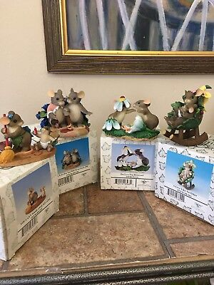 Charming Tails By Fitz And Floyd A Lot Of For Figurines