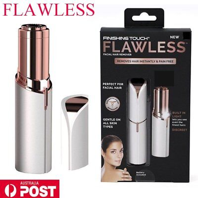 Finishing Touch Flawless Women Painless Hair Remover Face Facial Hair Remover A&