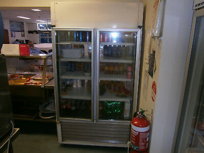 Fridge Commercial Display 2 Door