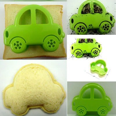 DIY New Car Sandwich Mould Maker Rice Cutter Cookie Pastry Device Kitchen Tool
