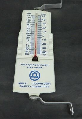 BELL TELEPHONE Minneapolis Minnesota MN advertising outdoors thermometer GREAT!