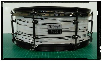 Diamond electronic snare drums