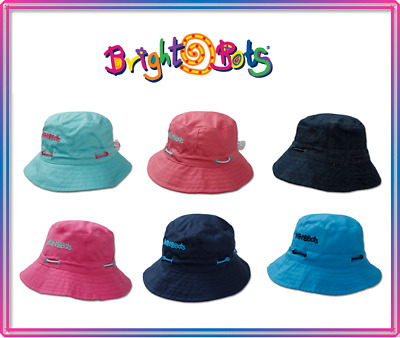 Bright Bots Kids Baby Bucket Sun Hat Childrens Ex Business Stock! RUN OUT SALE!