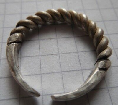 Viking period silver twisted ring