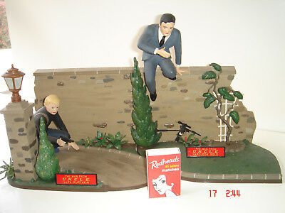 Aurora Diorama The Man From Uncle 1966 issue ASSEMBLED.
