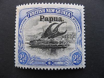 British New Guinea, Papua, Lakatoi SG24 MLH with White Leaves Position 20