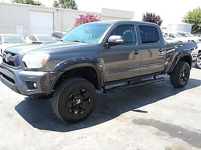 2013 Toyota Tacoma Pre Runner Crew Cab Pickup 4-Door 2013 TOYOTA TACOMA DOUBLE CAB TRD LONG BED