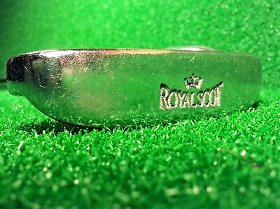 "Royal Scot Men's Right-Handed Golf Putter - 36"" - Leather Wrap Grip - NEAR MINT"