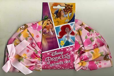 Disney Princess Shower Cap Bath Hat Novelty  New