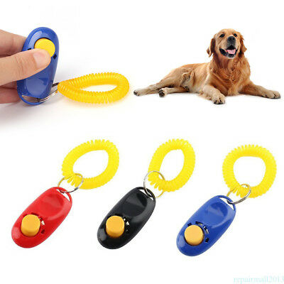 Pet Plastic Clickers Professional Special Dog Cat Training Clickers Durable ZNR