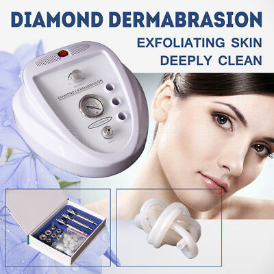 New Diamond Dermabrasion Machine Microdermabrasion System Beauty Deep Clean Skin