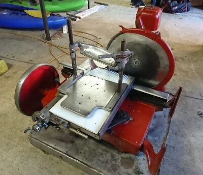 Antique Berkel & Parnells 1928 Meat Slicer