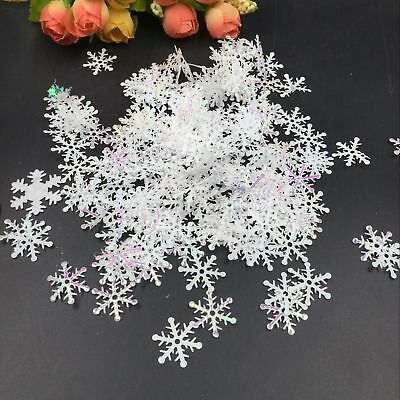 Classic Snowflake Ornaments Christmas Trees Holiday Party DIY Decors Hot 300pcs