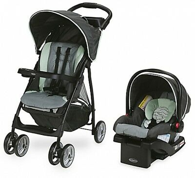Stroller Car Seat Combo Graco Recline Lightweight Infant Baby Travel System New
